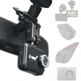 Dash Cam Mirror Mount - Fits Falcon F170HD,Rexing V1, Z-Edge, Old Shark, YI, Amebay,KDLINKS X1,VANTRUE and Most Other Dash Cameras - 1